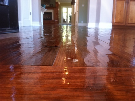 how to clean oil finished wood floors