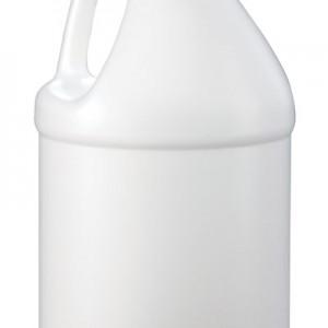 gallon white round bottle