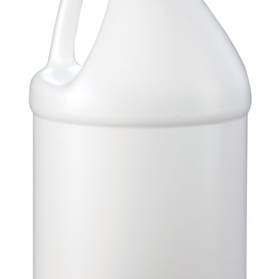 gallon white round bottle