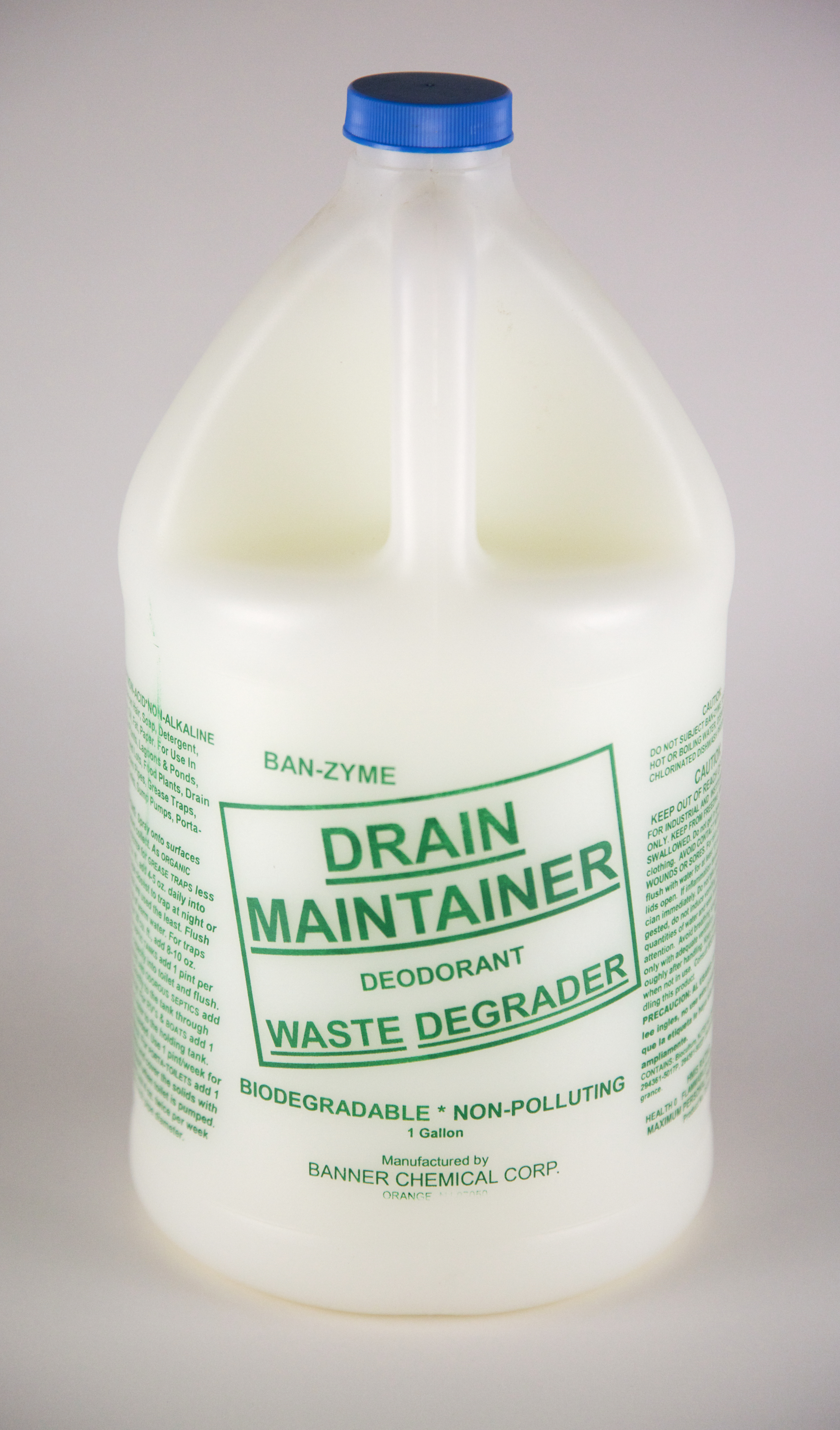 Banner Chemical Banzyme Drain Maintainer And Waste Degrader